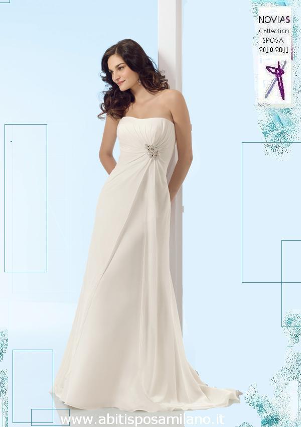 454c9413db91 Gli abiti da sposa premaman milano NOVIAS collecion 2010 2011