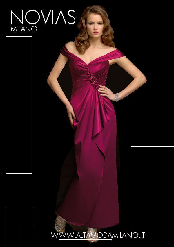 cd76a605002a Divisione cerimonia milano NOVIAS abiti da sera donna eleganti 2012