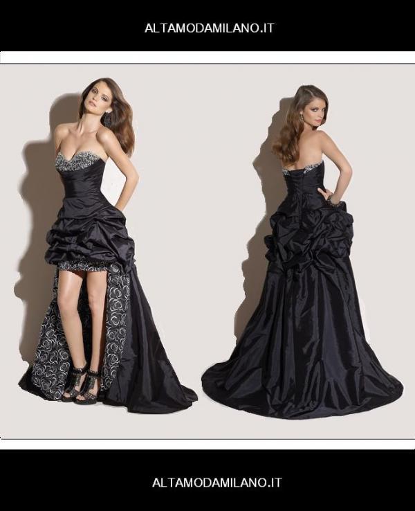 60c04eb76d4e Elegante e femminile WOMEN IN BLACK gli abiti da cerimonia Made in Milano  corso Venezia 29
